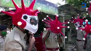 indian-police-wear-coronavirus-shaped-helmets-to-emphasise-seriousness-of-the-disease-to-residents
