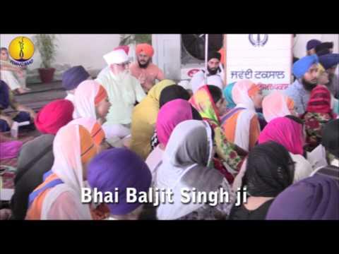 Bhai Baljit Singh ji : Gurmat Sangeet Workshop 2015