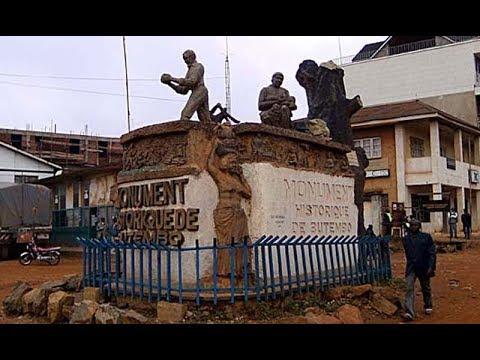 Butembo in North Kivu, Democratic Republic of the Congo, market, tea and coffee,