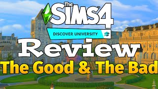 Pros and Cons: The Sims 4 Discover University Gameplay Review