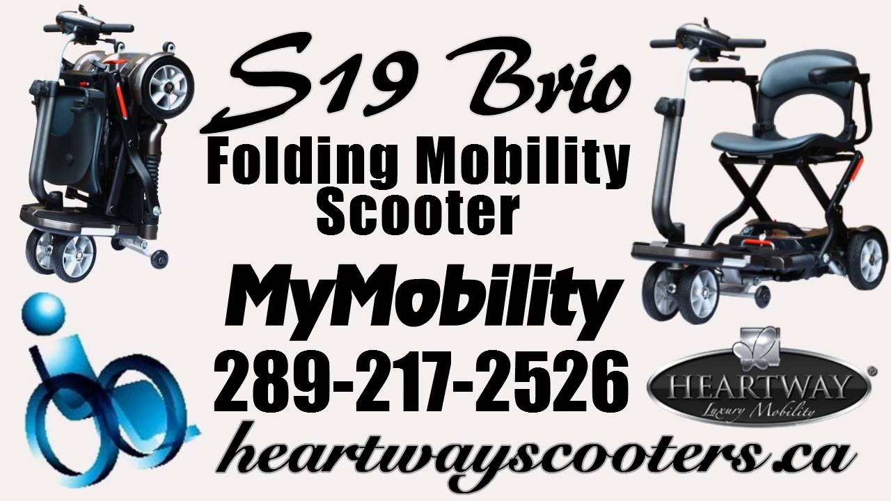 Foldable Mobility Scooter