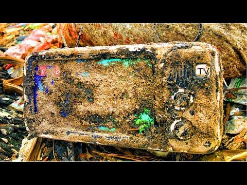Restoration Television mini 4 5 inch bluetooth speaker   Restore and rebuild the mini speaker TV