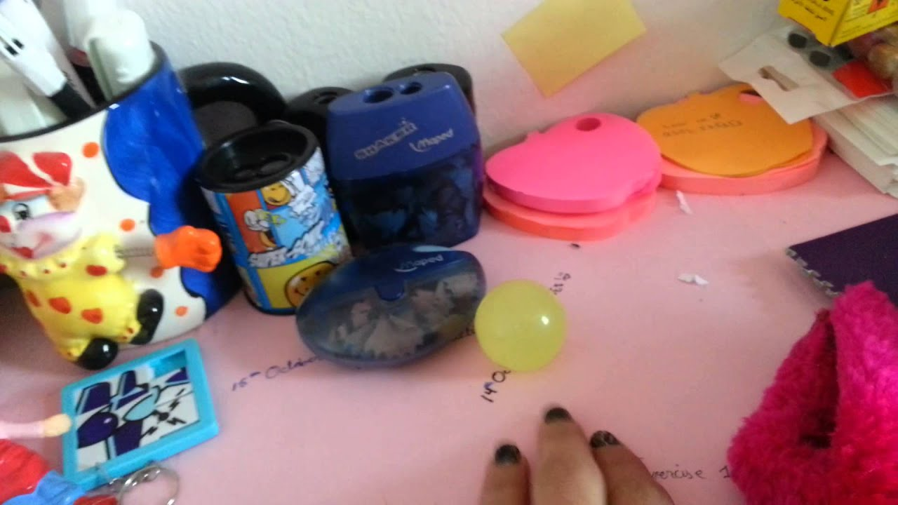 How To Decorate Your Study Desk Youtube