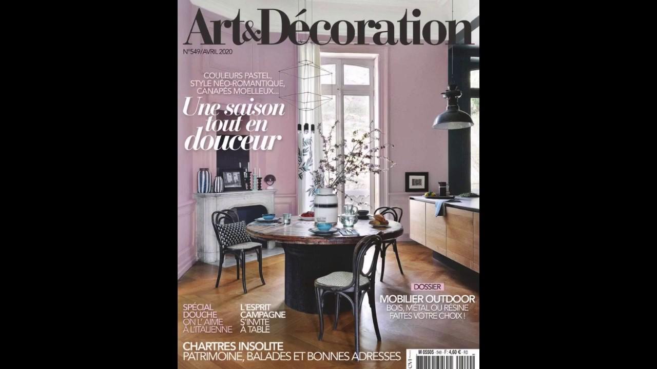 Art Et Decoration Avril 2020