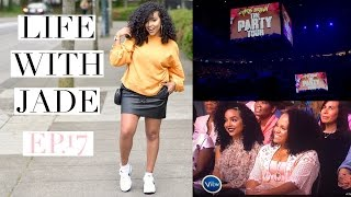 lifewithjade ep 17 chris brown concert and we were on the view