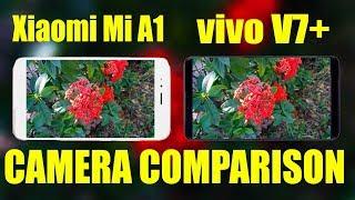 Xiaomi Mi A1 VS vivo V7 plus Camera comparison test