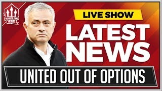 Man Utd STUCK With MOURINHO! Man Utd News Now