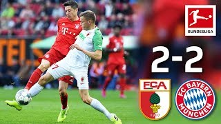 Fastest Goal So Far  & Last-Minute Equaliser I FC Augsburg vs. Bayern München I 2-2 I Highlights