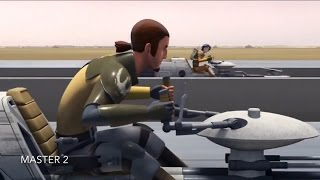 [Ezra's first meet with The Ghost crew] Star Wars Rebels [Spark of Rebellion] [HD]