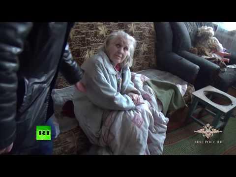 Видео освобождения 13-летней заложницы в Омске