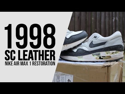 Nike Air Max 1 Greystone soleswap YouTube