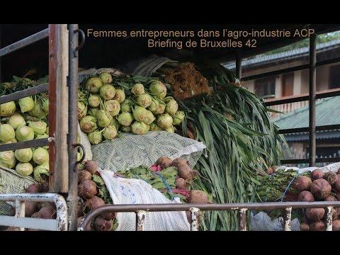 Femmes entrepreneurs dans l'agro-industrie ACP