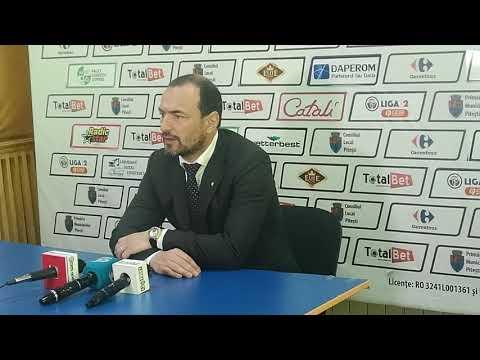 Ionut Badea - antrenor FC Argeș