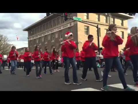 ATMS Band Cookeville Christmas Parade 2015 - YouTube