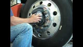 Polishing Aluminum Wheel On the Truck