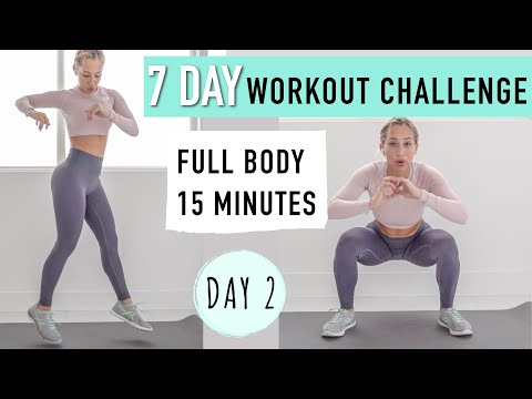 FULL body workout FROM HOME / NO EQUIPMENT