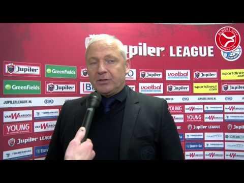 Jack de Gier na de 1-3 zege op FC Den Bosch