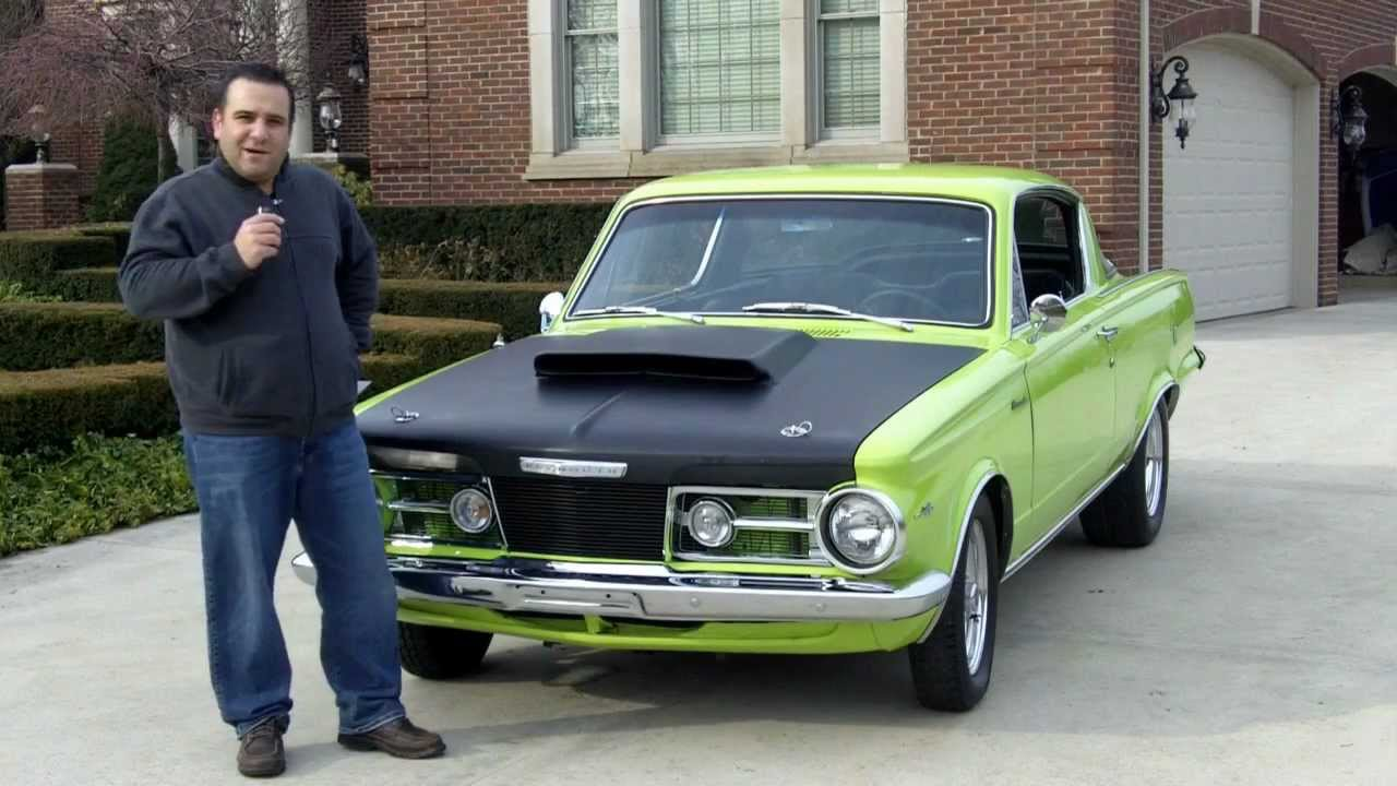 1965 Plymouth Barracuda Classic Muscle Car for Sale in MI Vanguard ...