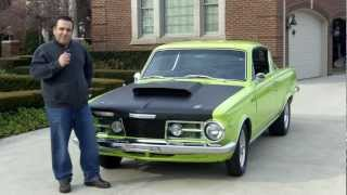 1965 Plymouth Barracuda Classic Muscle Car for Sale in MI Vanguard Motor Sales