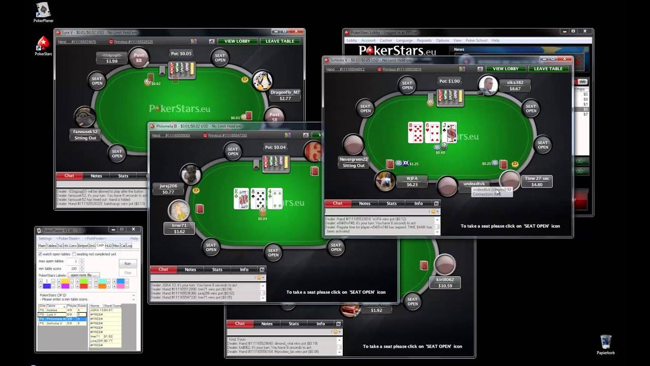 Open Pokerstars