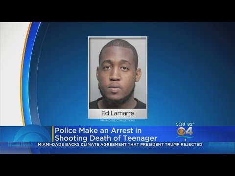 Arrest Made In Shooting Of North Miami Beach Teen
