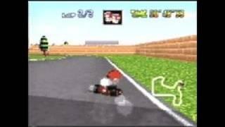 Mario Kart 64 Nintendo 64 Gameplay - Super Mario Kart 64