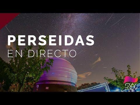 Perseidas 2017 - Estrellas fugaces en directo