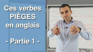 Ces verbes pièges en anglais : partie 1