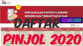 Daftar Pinjol Terdaftar Ojk 2020 Dan Berizin Daftar Pinjol Yang Ada Debt Collector Nya Youtube