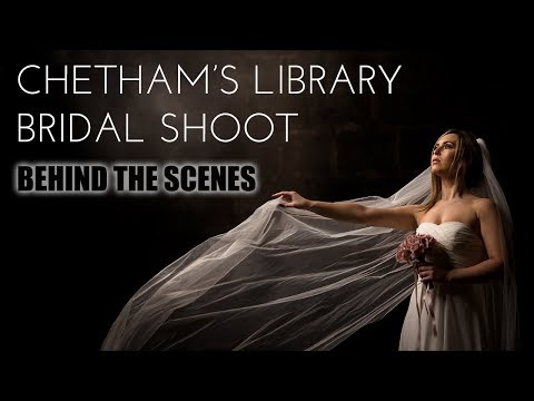 Chetham's Weddings bridal shoot | Behind the scenes