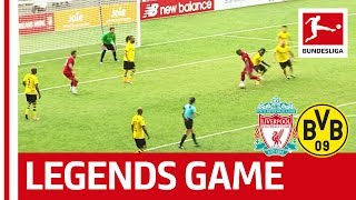 Liverpool FC Legends vs Borussia Dortmund Legends | 3-2 | Highlights