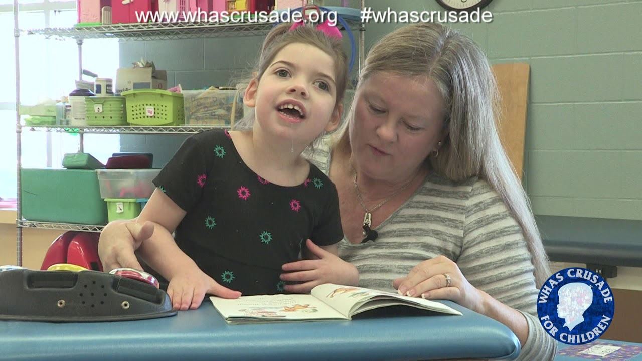 Child with hypotonia walks thanks to WHAS Crusade supported agencies