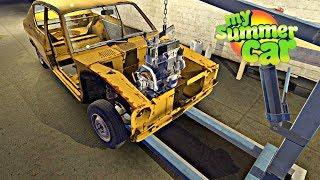 JUGANDO EN DIRECTO - My Summer Car #13 (Simulador de vida)