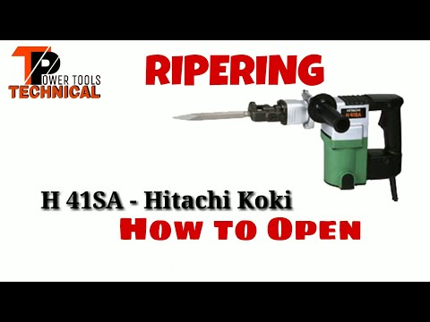 Hitachi Koki H 41SA 5 Kg Hummer Sarvic and gricing