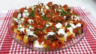 Yanardağ Kebabı Tarifi- Köfteli Nefis Yemek Tarifi- Bilik Ailesi - Yemek Tarifleri