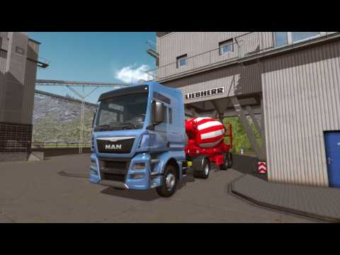 "Construction Simulator 2015: DLC7 ""Liebherr HTM 1204 ZA"" Trailer [EN]"