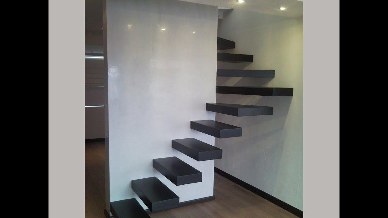 Escalera moderna escalera minimalista youtube - Decoracion de escaleras ...