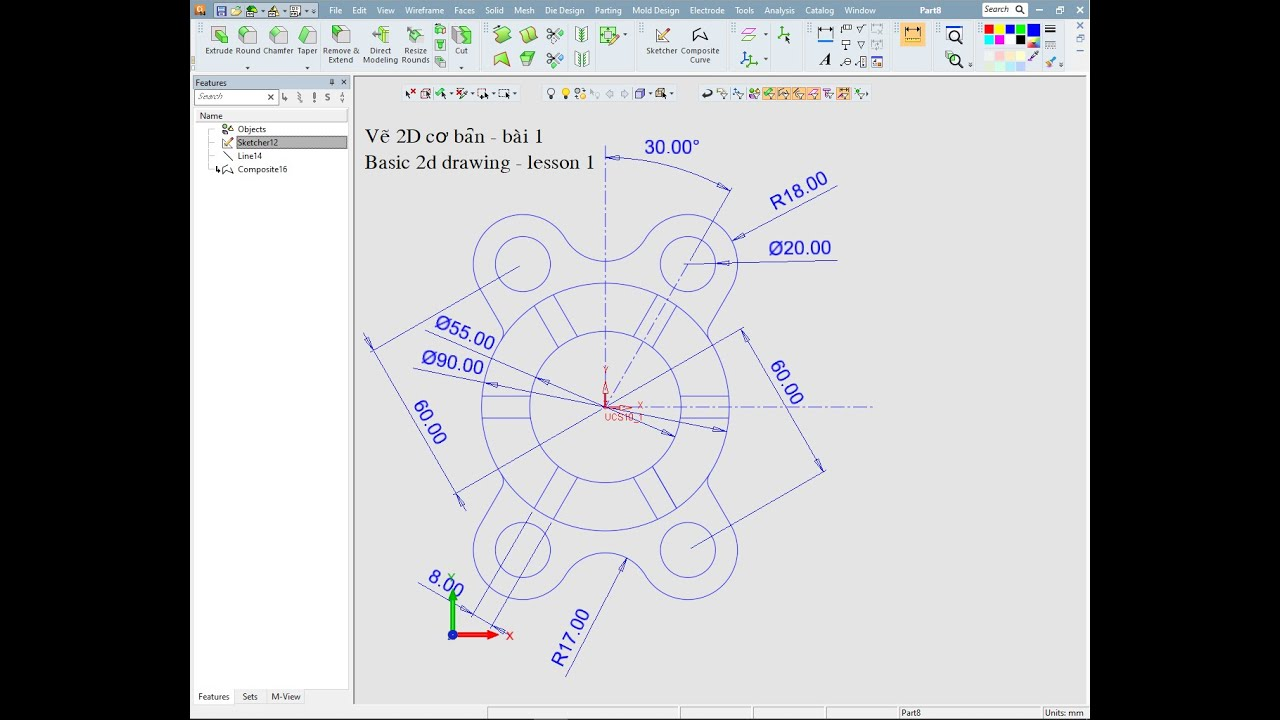 Vẽ 2D cơ bản – bài 1 (Basic 2d rendering – lesson 1)
