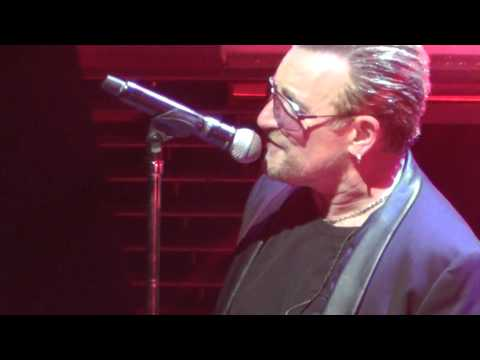 U2 July 11, 2015 24: Mother & Son Reunion/Where the Streets... - TD Garden, Boston, MA
