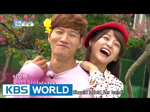 Kim Jong-kook and Kim Se-jeong shoots a wedding photo? [Talents For Sale / 2016.10.05]