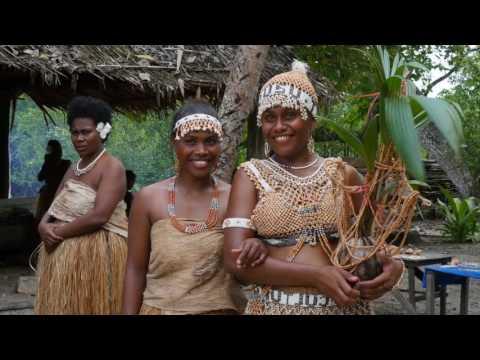Solomon Islands Malaita Shell Money Making
