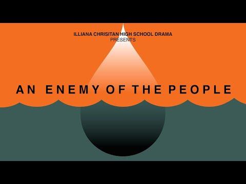 Illiana Christian High School Drama: An Enemy of the People