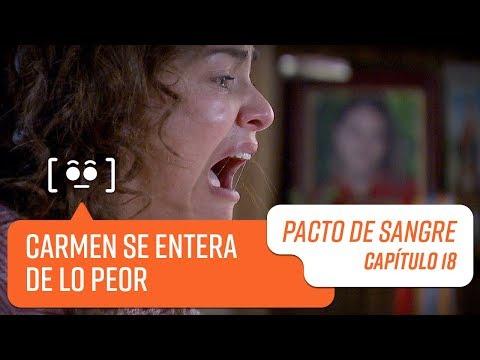 Carmen se entera que Daniela está muerta | Pacto de Sangre | Capítulo 18
