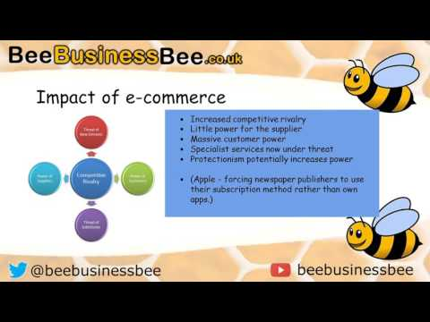 BUSS4 Technological Change: E-commerce AQA Business Exam Video 2016