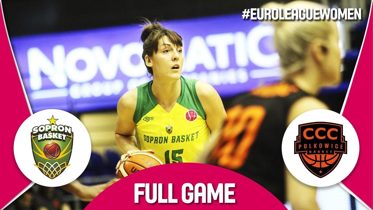 Download Sopron Basket (HUN) v CCC Polkowice (POL) - Full Game - EuroLeague Women 2017-18
