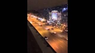 """Санкт-Петербург. Панорамный вид из ресторана """"Большая Кухня"""""""