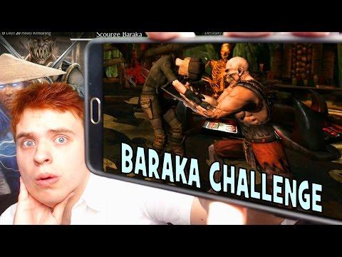 MKX Mobile. BARAKA Challenge Review. LET'S MAKE IT CHALLENGING!