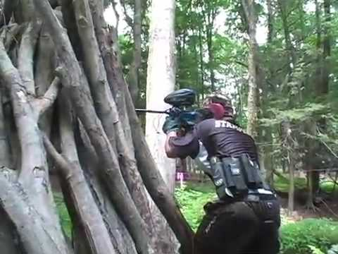 Action Zone: Paintball in the Poconos