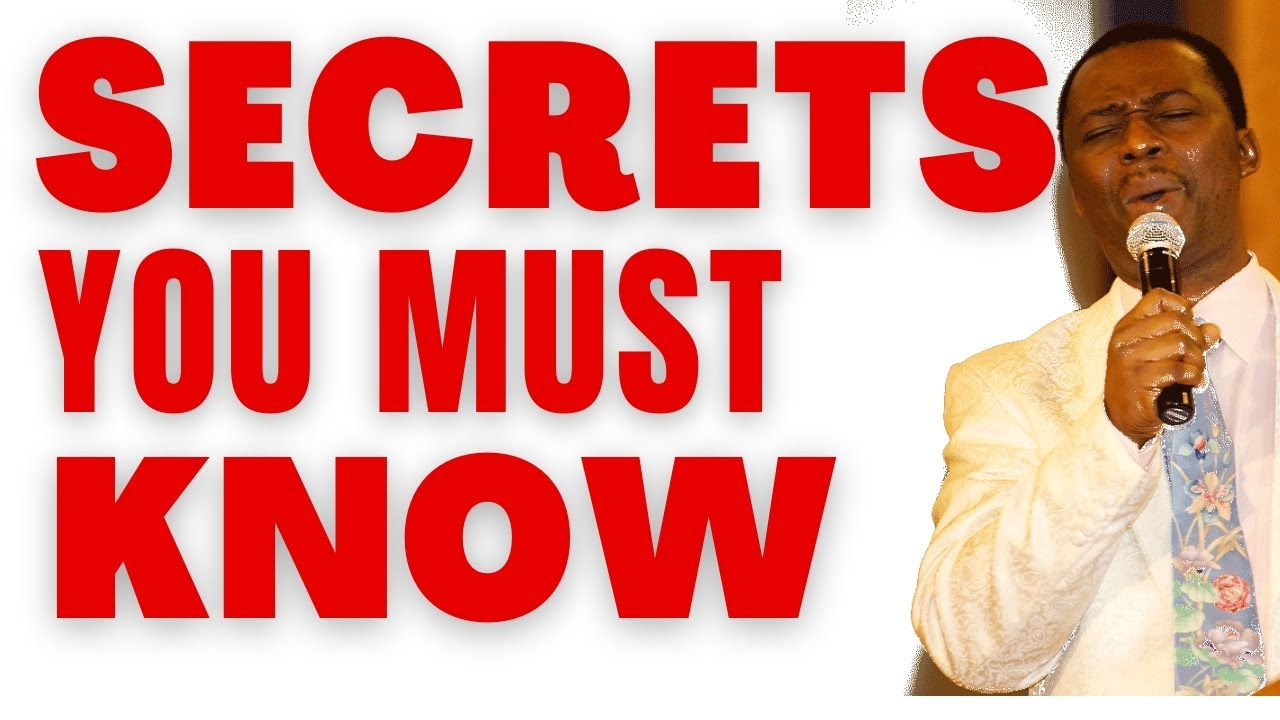 Download dr dk olukoya - Secrets You Must Know