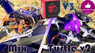 ✔ DVR Raw Test! Foxeer Mix vs Caddx Turtle V2 + Predator V3!